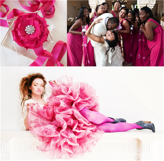 Wedding Inspiration | Raspberry Pink Love