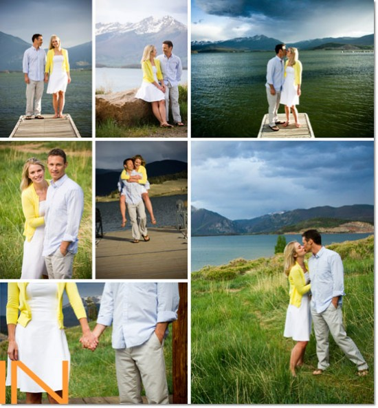 Keystone, Colorado Engagement Session by IN Photography