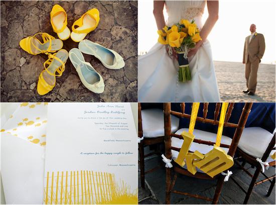 Yellow Beach Inspiration