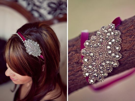 Custom Made Vintage Headbands from Pink Street Design