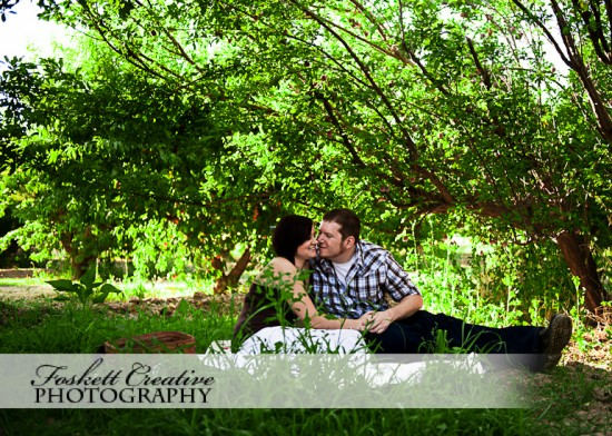Farm Fresh Engagement Session~Foskett Creative Photography