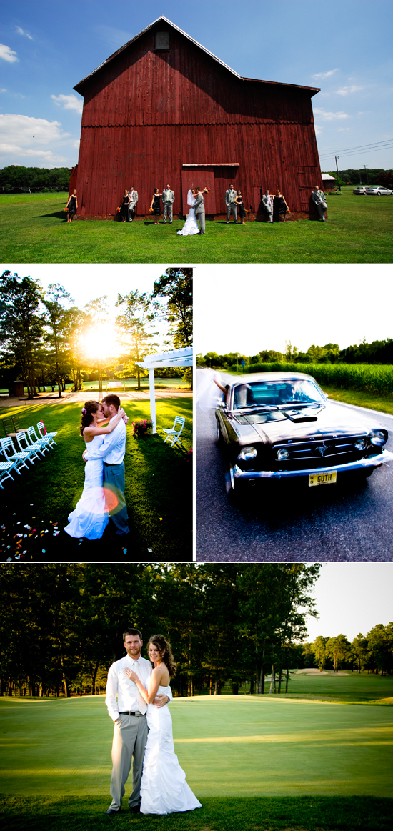 Josh and Jennifer's Red Barn & Country Club Wedding