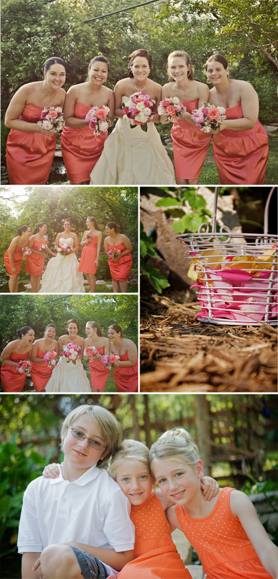 Shawn Ness and Kelly Boyden, now Kelly Ness, had Texas Wedding Photographer Jennifer Nieland of A Moment in Time Photography capture their wedding at Erinshire Gardens in Abilene, Texas.
