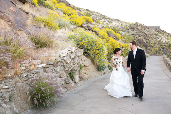 Palm Springs Wedding At The O'Donnell House