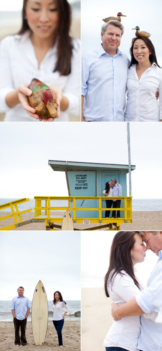 a pacific palisades engagement . picotte photgraphy