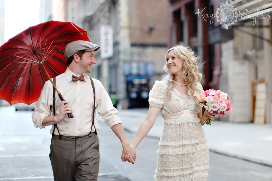 Vintage NY inspired wedding shoot