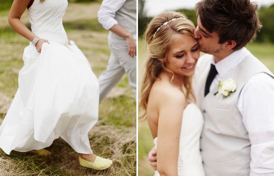 Minneapolis Real Wedding With Yellow Details