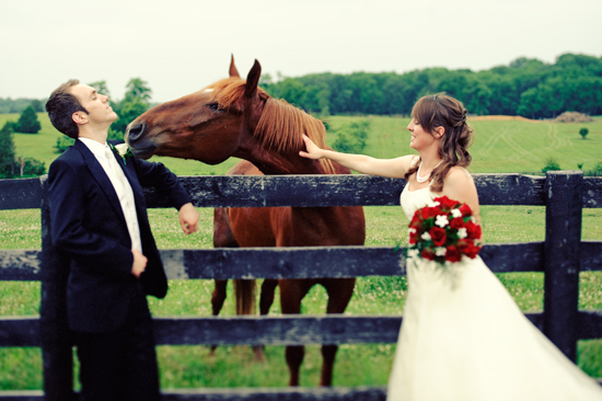 Whitney & Keith's Historic House & Farm Wedding