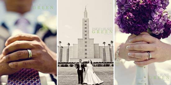 Los Angeles LDS Temple Wedding