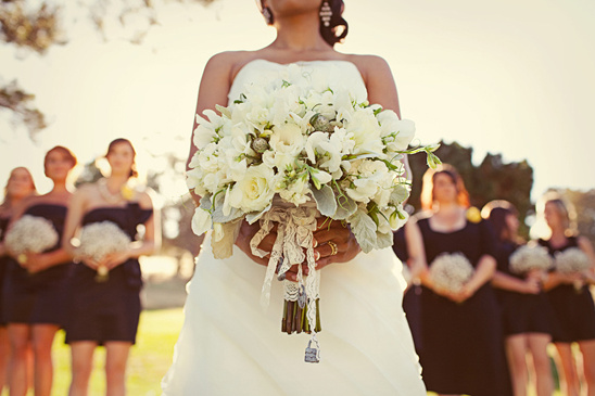 Orange County Real Wedding With Shabby Chic Details