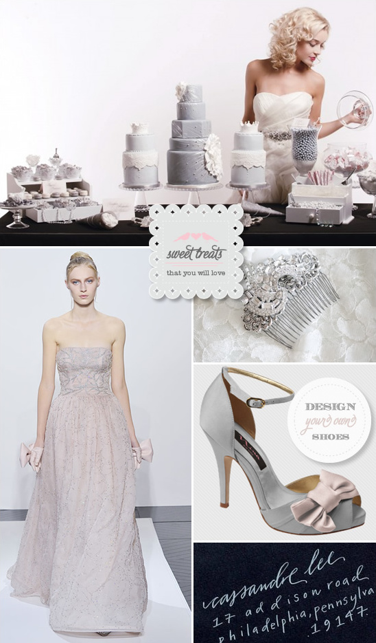 Sweet Treats + Valentino Wedding Gown