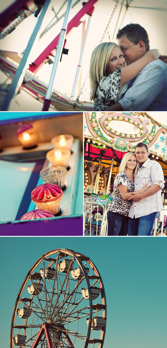 County Fair Engagement Session | Yvonne Denault Photography