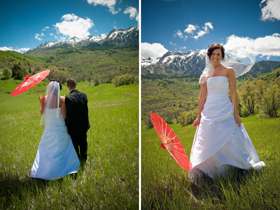 Heather + Jeff: Snowbasin, Utah wedding
