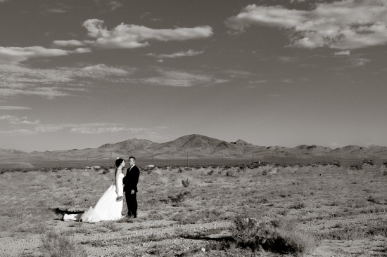 Las Vegas Wedding. Ricki + Mike