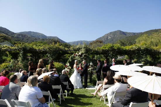 Lovely Wedding at San Ysidro Ranch