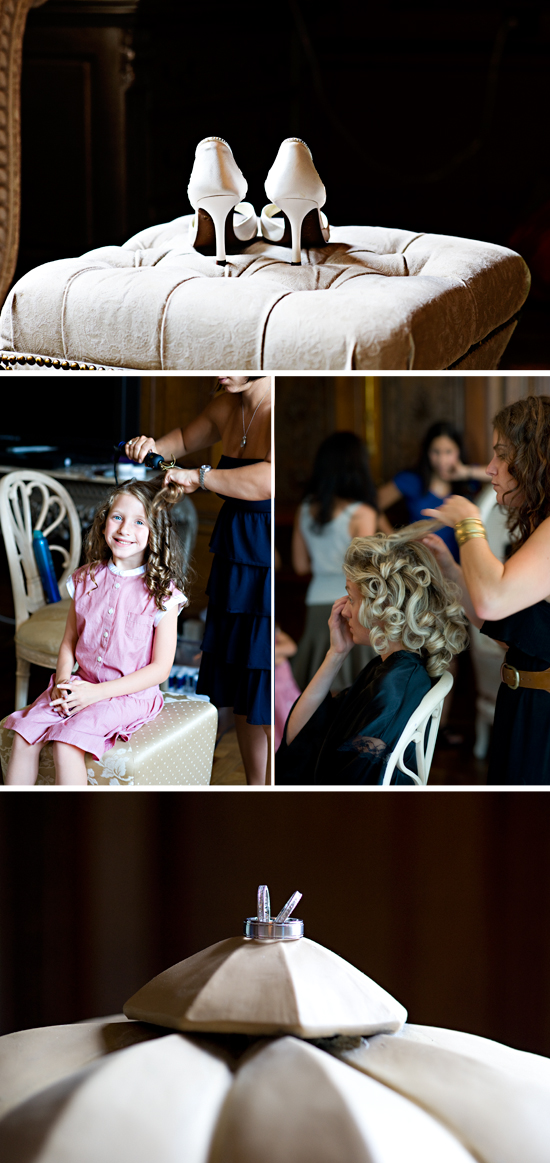 Michael & Lindsay's Sweet and Subtle Castle Wedding at the Skyland Manor