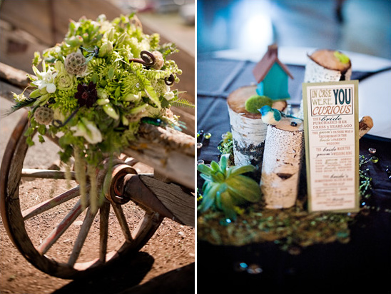 DIY Lime Green & Navy Blue Wedding