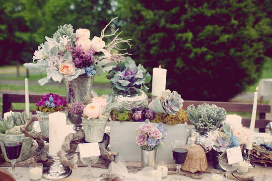 Deep Purple Rustic Wedding Ideas