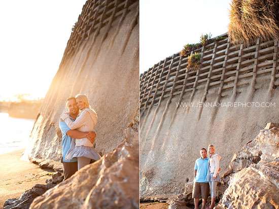 Pismo Beach Engagement {Jenna Marie Photography}