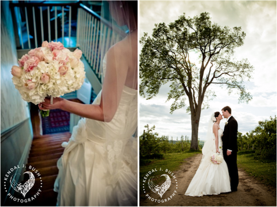 Emma & Ryan's Alyson's Orchard Wedding | Kendal J. Bush Photography