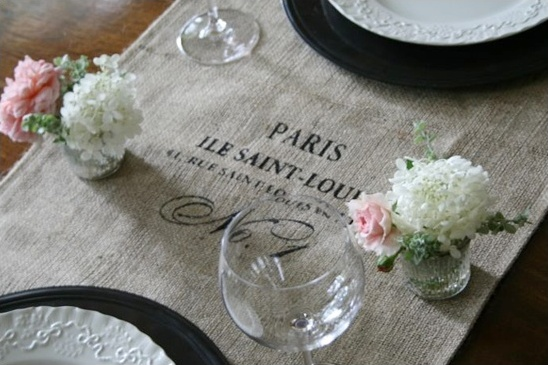 French Do It Yourself Wedding Ideas