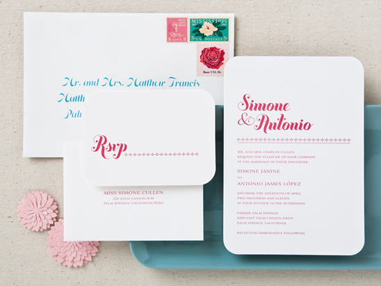 Stylish Wedding Invitations From Betsy White