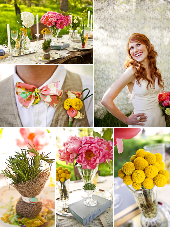 Stylish Green Wedding Ideas