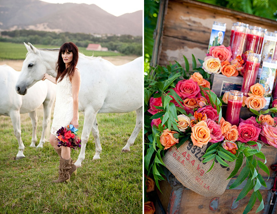 Countryside Bohemian Wedding
