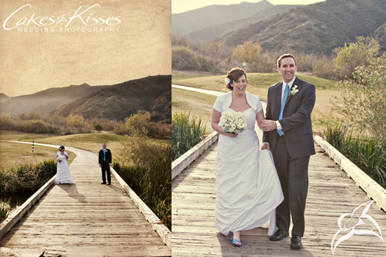 Lovely Golf Course ceremony and reception in Corona, CA