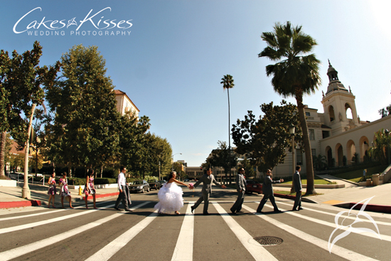 Pasadena City Hall, Wedding Portraits, Pasadena CA