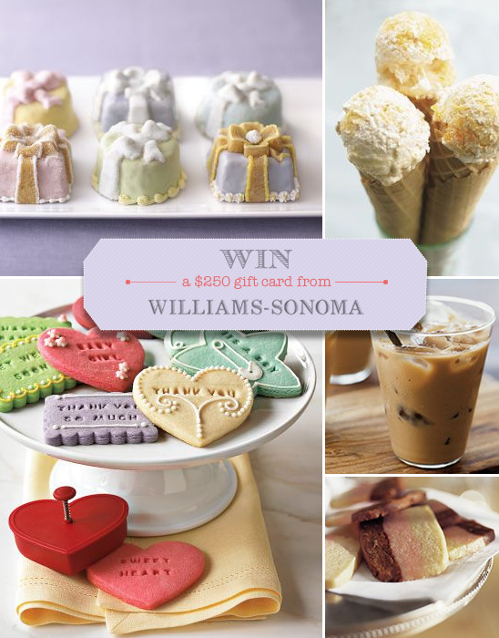 Win A $250 Gift Card From Williams Sonoma