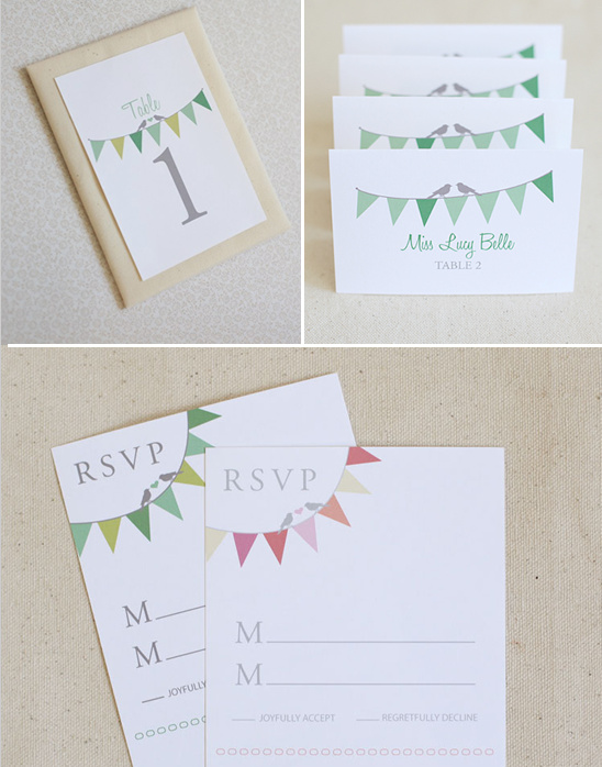 blog bunting do it yourself wedding invitations