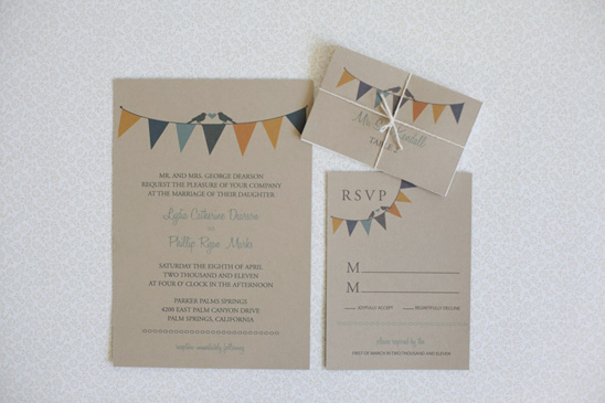 bunting do it yourself wedding invitations