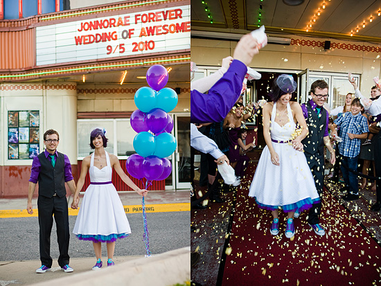 Unique, Dallas movie theater wedding!