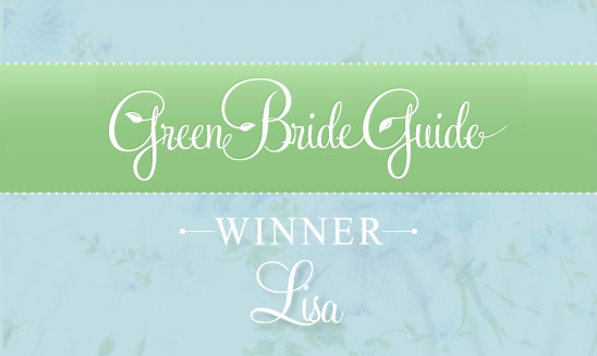 Green Bridal Guide Winner