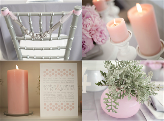 Pink and Gray Modern Inspiration