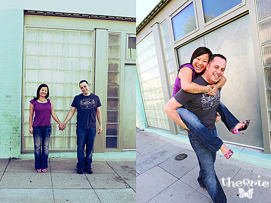 San Diego Wedding Photographers, Santa Monica, Los Angeles, Urban Downtown, Engagement Session, Theorie, Modern, Artsy
