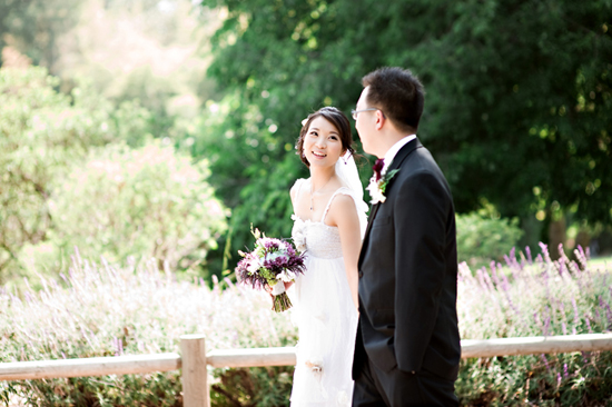 la arboretum wedding photo