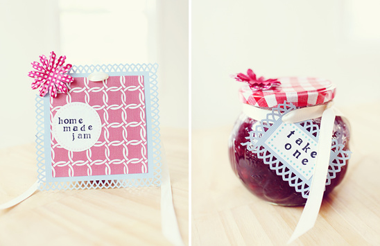 Do It Yourself Strawberry Jam Favors