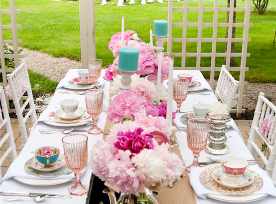 A Tea Party Wedding | Gracie Lou Events