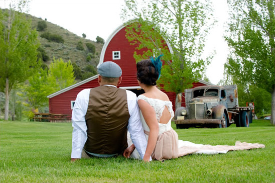 Idaho Old Fashion Wedding