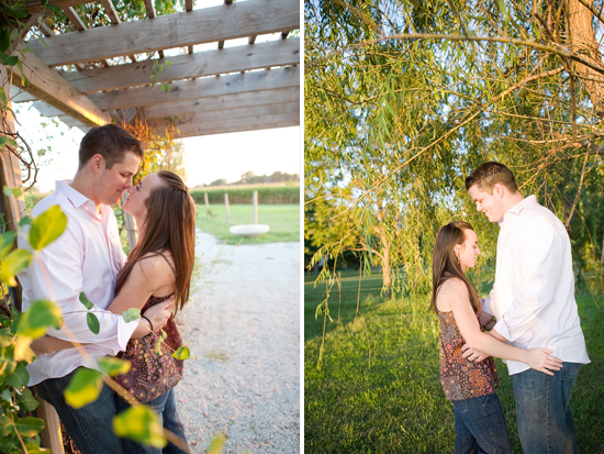 Allie and Jesse Country Engagement Session