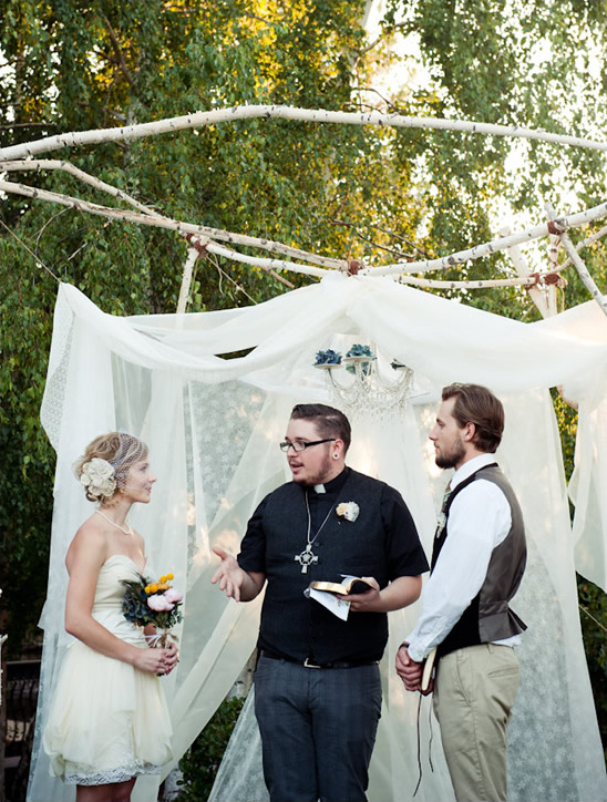 Sacramento Homespun Wedding