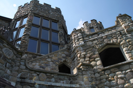 Wonderful Castle Overlooking Lake George New York: Castle Wedding Venues
