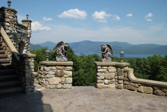 Wonderful Castle Overlooking Lake George New York Wedding Venues