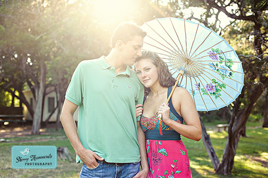 Claire and Oliver- a sweet session in Austin, by Sherry Hammonds Photography