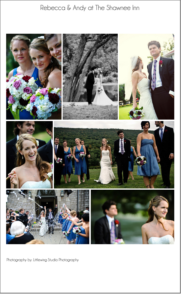 A Shawnee Inn wedding in the Poconos