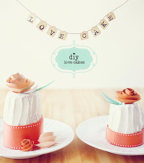 do it yourself wedding cake decor