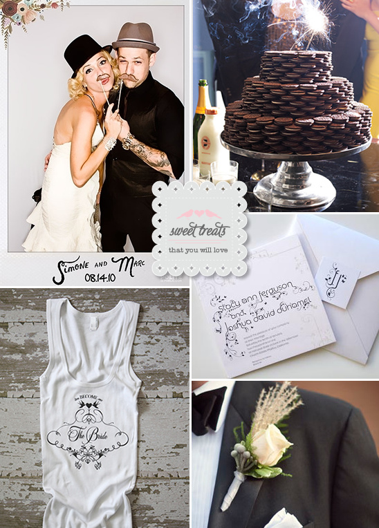 Sweet Treats + Oreo Wedding Cake