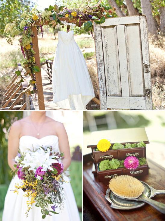 Sweet & Chic Shabby Chic Wedding